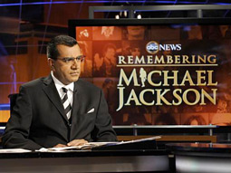 Charles Gibson anchored 'Remembering Michael Jackson' on ABC.
