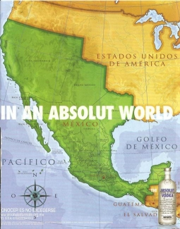 Where are we? Absolut is left nursing a hangover after cross-border jaunting.