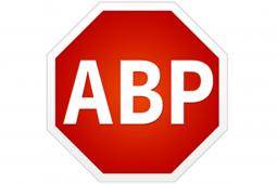 The logo of Adblock Plus, one of several common plug-ins that consumers use to avoid online ads.