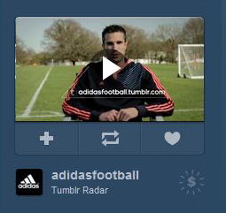 Tumblr's Radar ad unit