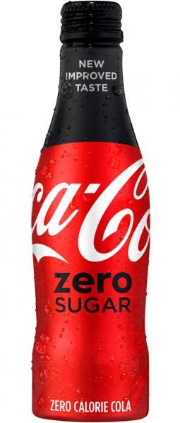 The new Coca-Cola Zero Sugar.