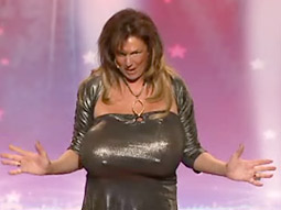 Contestant Busty Heart helped NBC's 'America's Got Talent' see a 6% ratings rise.