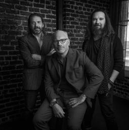 Left to right: Rick Condos, Robert Riccardi and Hunter Hindman.