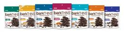 Lineup of barkThins products