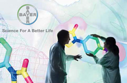 Bayer's 2008 annual report claims nearly $4 billion in marketing expenses.