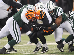 The Jets beat the Bengals as NBC won Sunday night overall.