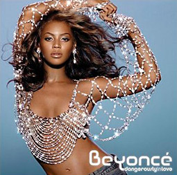 A Beyonce album cover photographed by Markus Klinko and Indrani.
