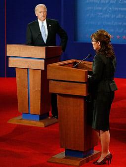 Last night's vice presidential debate between Sen. Joe Biden and Gov. Sarah Palin drew 69.9 million viewers.