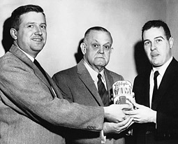 Bill Blackshaw (left) was an ad man for 30 years, and many of his experiences matched those at Sterling Cooper on 'Mad Men.'