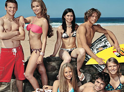 TheWB.com will also debut nearly a dozen original series, including the surf-academy reality competition 'Blue Water High.'