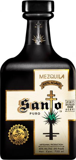 Santo Mezquila bottle