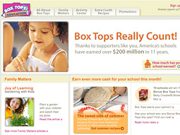 Programs like General Mills' Box Tops for Education that target parents to make a purchase were much more positively rated than programs that target kids directly with advertising messages.