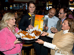 Buffalo Wild Wings, a New York-style chicken chain and sports bar, has expanded rapidly in recent years, for a total of 550 restaurants in 38 states.