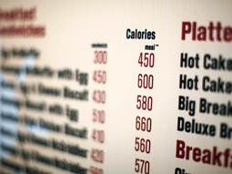 Some 86% of study participants said they were surprised by the calorie information, and 82% said they were changing their consumption habits because of it, by choosing lower-calorie alternatives.