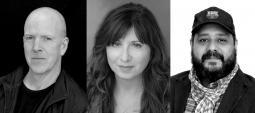 L-R: MODE Studios' Caryl Glaab, Anne Militello, and Pablo N. Molina.