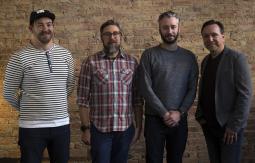 L to R: Phil Linturn, Danny DelPurgatorio, Carbon creative director Liam Chapple, Rob Churchill
