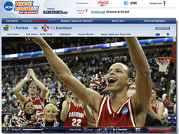 NCAA March Madness on Demand, the video player that provides live streaming video of the tournament, will continue to launch from NCAA.com and CBSSports.com.