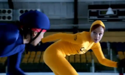 A scene from Century 21's Super Bowl commercial in 2012