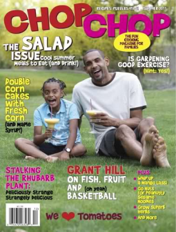 Grant Hill on the cover of Chop Chop magazine.