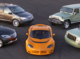 Chrysler said it will do more advertising showing the Chrysler, Dodge and Jeep brands together in 2009.