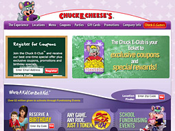 Other options: Marketers such as Chuck E. Cheese are luring kids online with their own content, not programming made by somebody else.