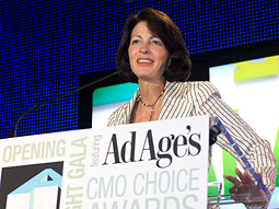 Linda Clarizio, president of AOL's Platform A, said of Barack Obama, 'I think he did a great job of going from a relative unknown to a household name to being a candidate for president.'