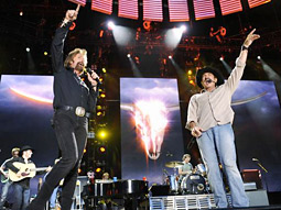 Brooks & Dunn perform at the 'CMA Music Festival: Country's Night to Rock.'