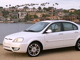 Coda plans to start selling its vehicle in fall 2010 in California only.