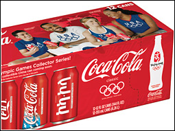 Collectible packaging featuring the Coca-Cola script logo in five languages will grace cans and bottles.