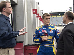 Nascar driver Jamie McMurray appears in one of the new spots set to break during the Fox broadcast of the Daytona 500 this Sunday.