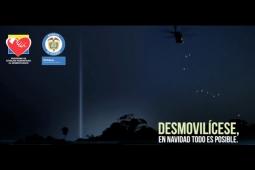 Guerrilla demobolization tagline.