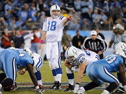 'Sunday Night Football' on NBC saw the Indianapolis Colts defeat the Tennessee Titans.