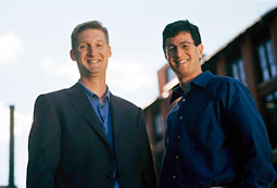 Small Army was created by Mike Connell (left) and Jeff Freedman.