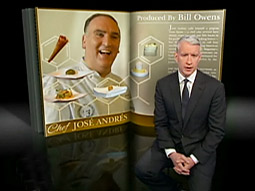 CNN's Anderson Cooper presented a segment on CBS's '60 Minutes' this past weekend.
