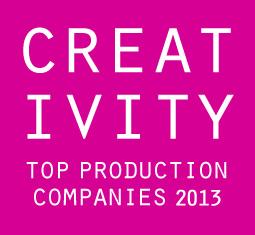 Creativity Top Production Companies 2013 Post