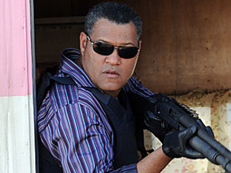 'CSI' saw a 24% demo drop after replacing original star, William Peterson, with Laurence Fishburne (pictured) last year.