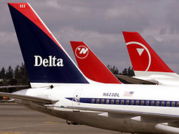Delta and Northwest, which are the country's third and fifth largest carriers, respectively, estimated the value of the new company to be $17.7 billion.