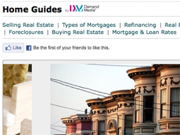 The Home Guide on the San Francisco Chronicle's website SFGate.com is now using content from Demand Media.