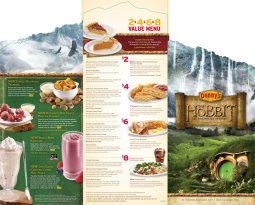 Denny's Middle Earth Menu