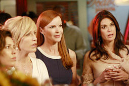 Despite falling 7% from last fall's first showing, ABC's 'Desperate Housewives' was Sunday's highest-rated program.