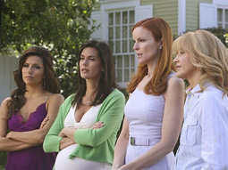 A series such as 'Desperate Housewives' on ABC might contain plenty of positive portrayals of nonmarried sex.
