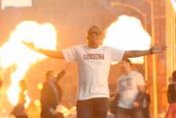 Diddy in a Time Warner Cable promo for Revolt