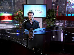 The series debut featured R&B singer Robin Thicke.