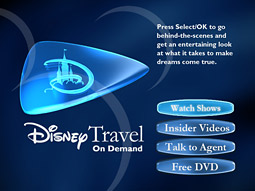 Disney Travel On Demand, launched in May 2007, is designed to help families plan their trips by showcasing the parks' various features.