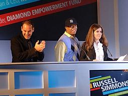 Scott Donaton, Russell Simmons and Teressa Iezzi