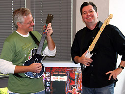 Greg Artkop and Sean Gleason had a eureka moment playing 'Guitar Hero III.'
