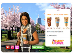 Margie Myers, senior VP-communications for Dunkin' Brands, said in a statement, 'Absolutely no symbolism was intended.'