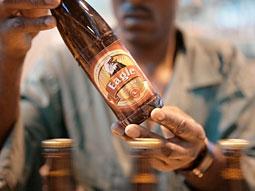 SABMiller's Eagle Lager is Uganda's largest seller.