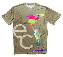 EarthColor t-shirt