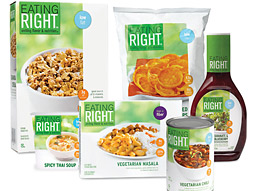 Eating Right products, engineered to provide specific health benefits, such as high fiber content, is expected to bring in about $200 million in Safeway sales this year.
